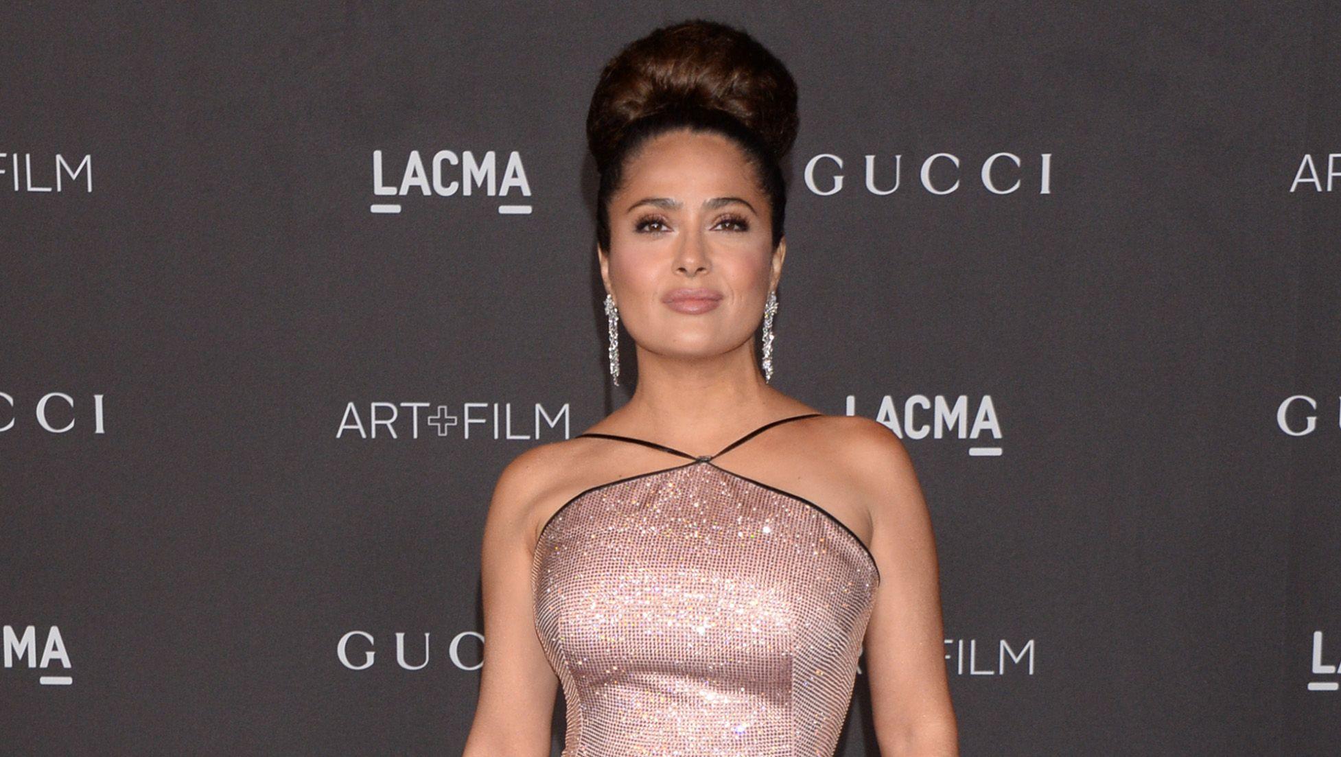 Angela Molina Sexy fans go crazy for salma hayek's celebrity christmas ornaments