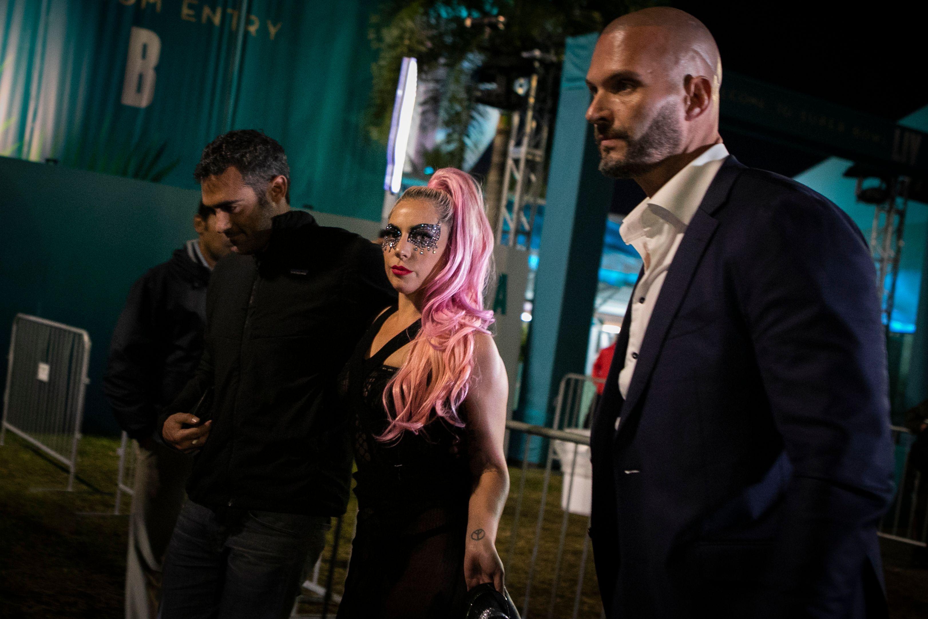 Lasdy Gaga and Michael Polansky in Miami