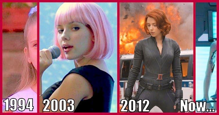 The Breathtaking Evolution Of Scarlett Johansson