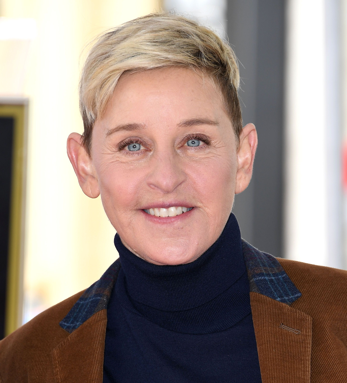 Ellen DeGeneres poses for a photo.