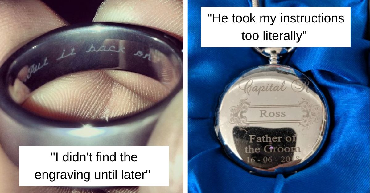 17 Gift Engravings That Ruined It For Everyone