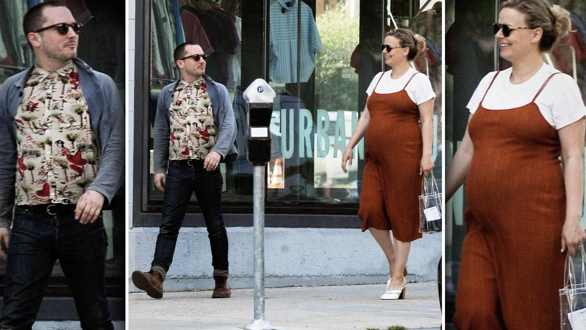Elijah Wood Seen Out With His Pregnant Filmmaker Girlfriend