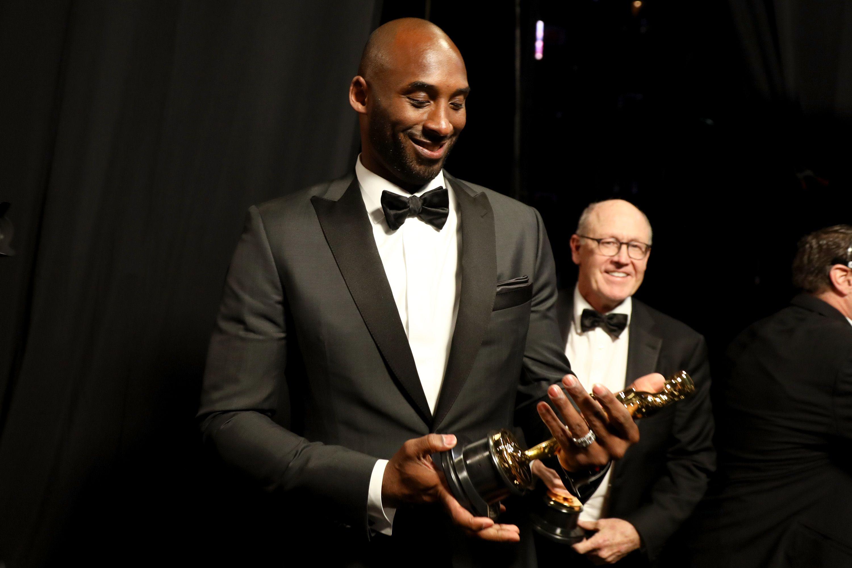 Kobe when he won an Oscar.