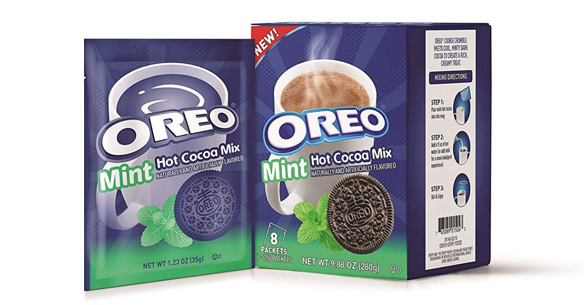 Oreo Mint Hot Cocoa Mix Will Keep You Warm This Winter