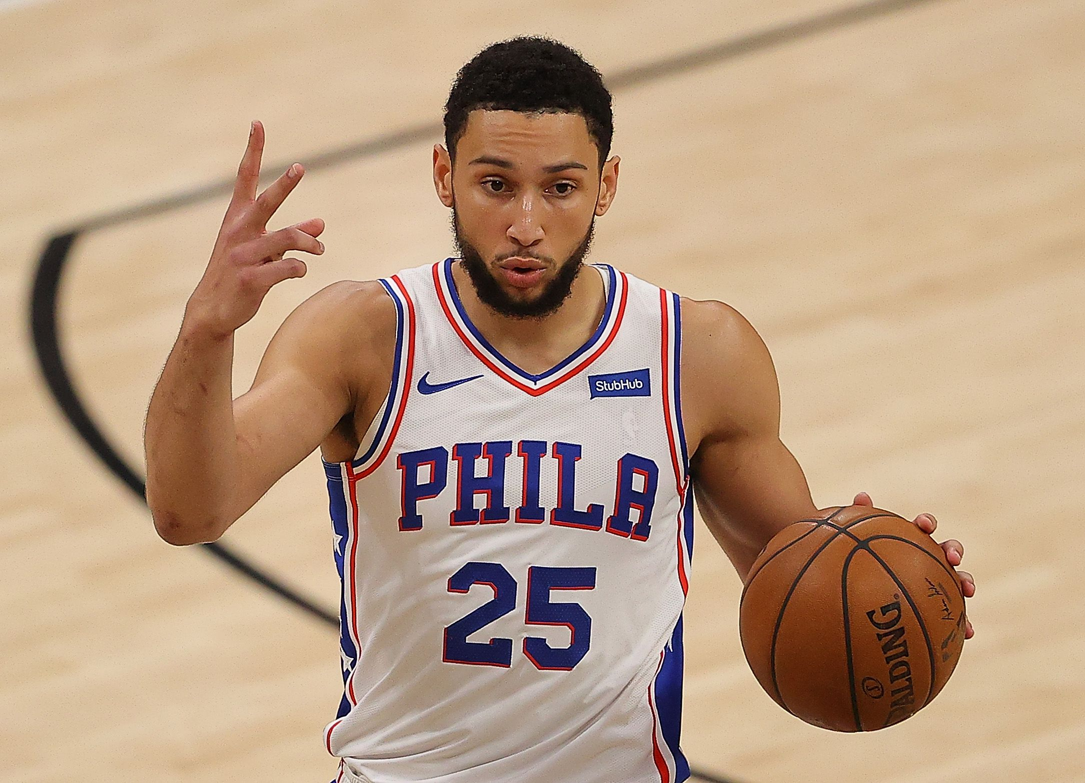 Ben Simmons making plays for the Sixers