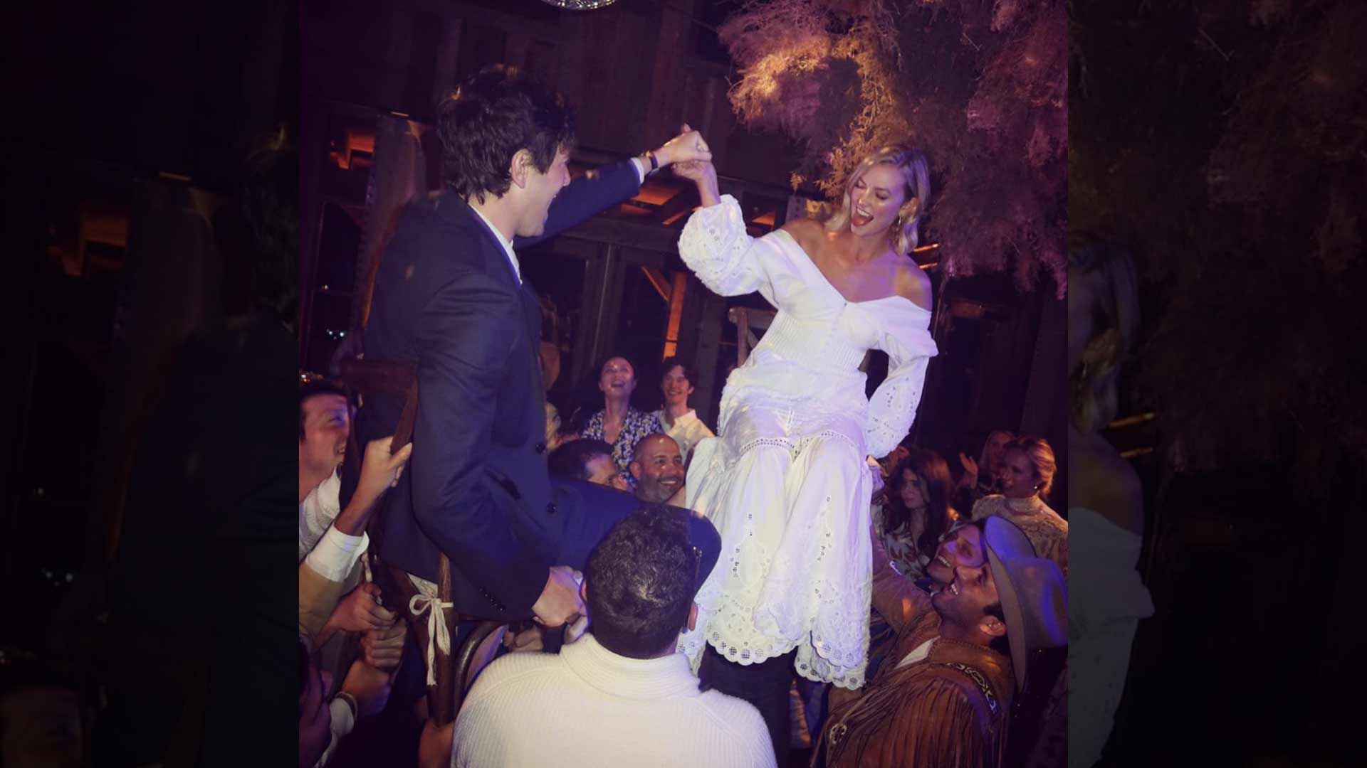 Taylor Swift Did Not Mosey Out to Karlie Kloss' Wild West Wedding