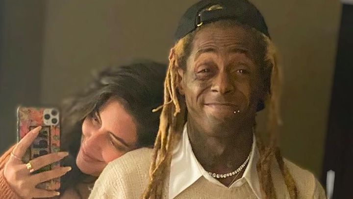Lil Wayne All Smiles With Girlfriend Denise Bidot Despite Facing Years In Prison