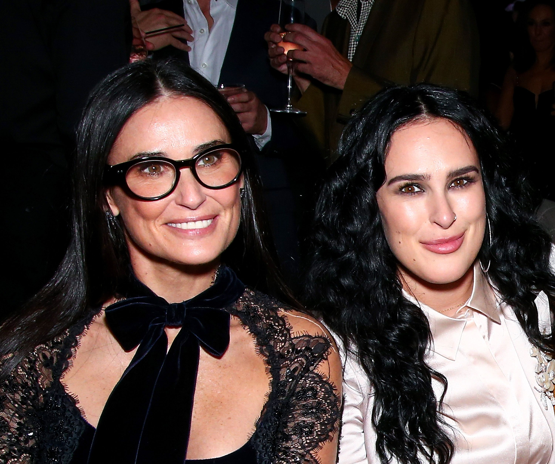 Demi Moore & Rumer Willis Attending The 2019 Vanity Fair
