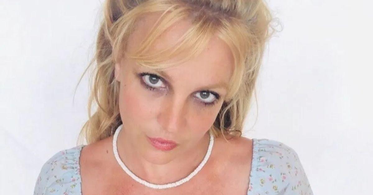 Britney Spears Crushes Instagram In Tiny Snakeskin String Bikini!! -