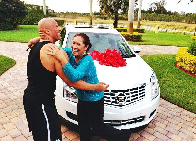 The Rock Surprised His Sister In Law With A Car This