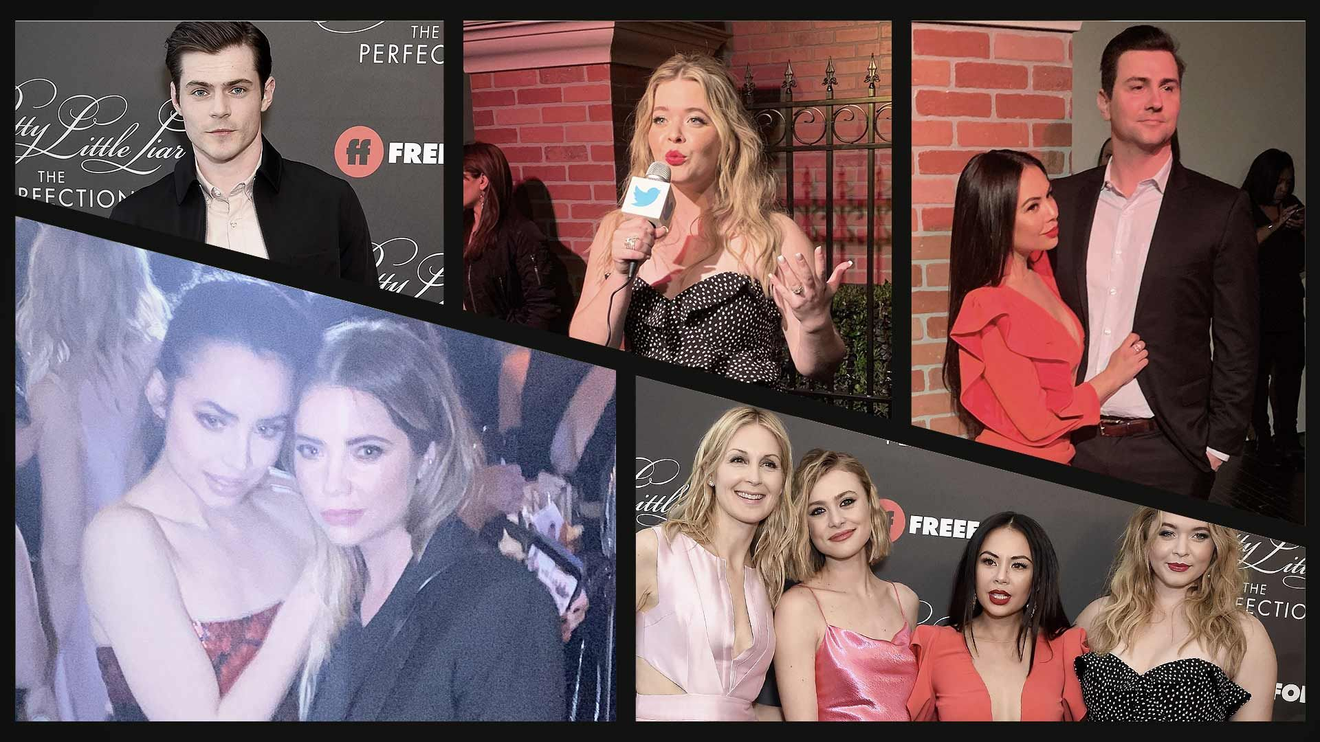 Go Inside Pretty Little Liars The Perfectionists Premiere