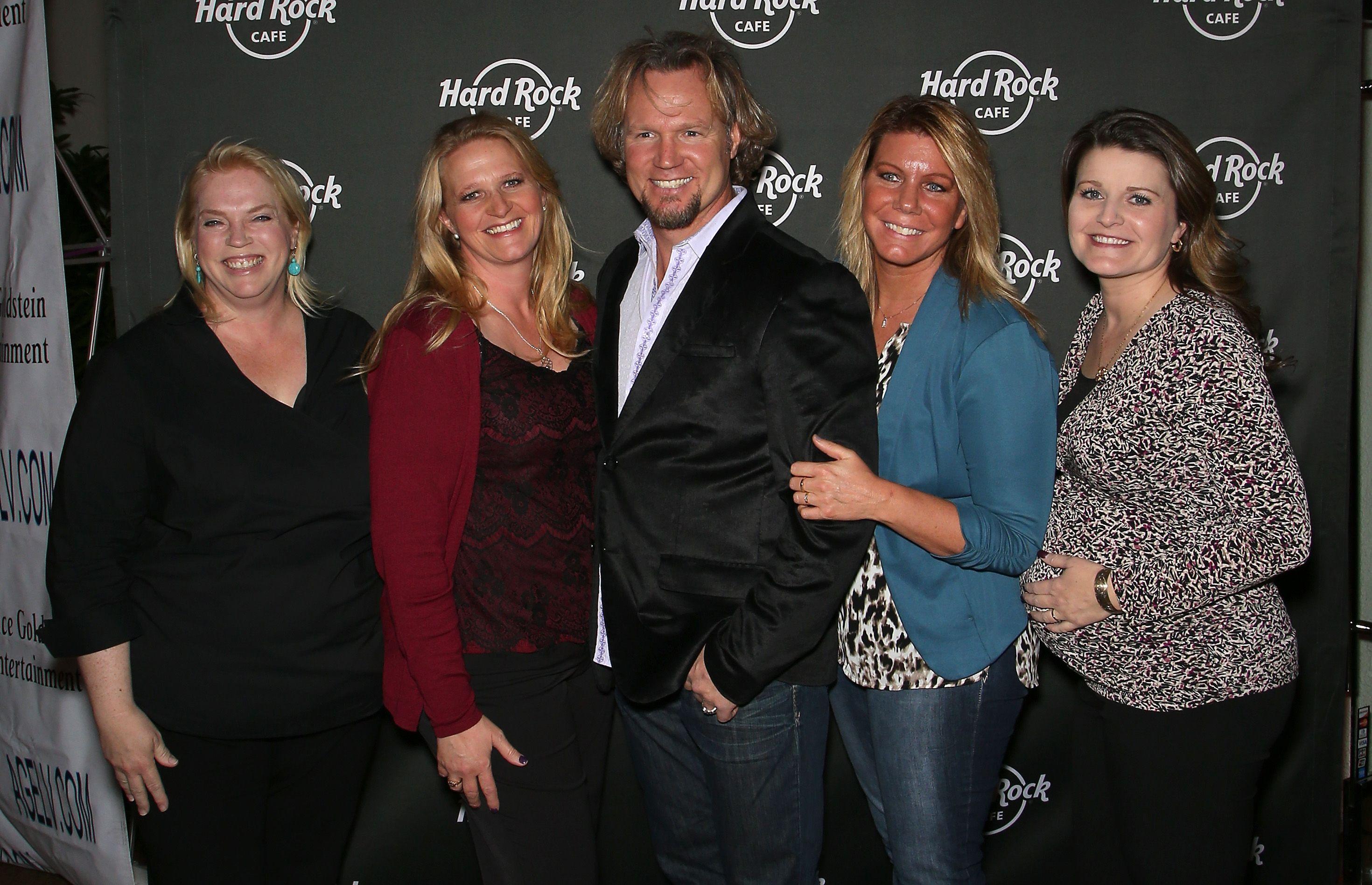 Janelle, Christine, Kody, Meri, and Robyn Brown