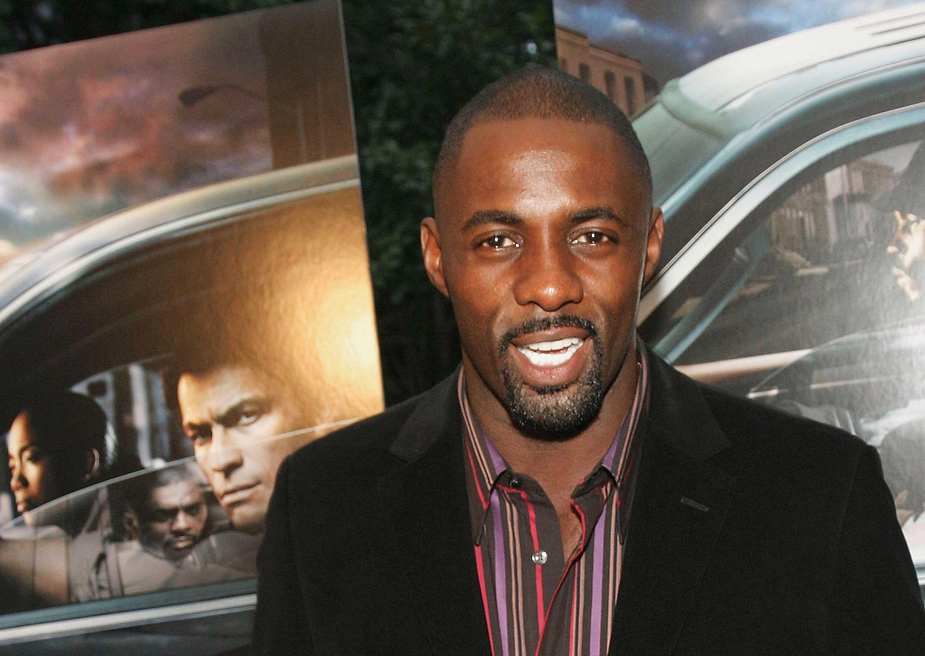 Idris Elba at an event for The Wire