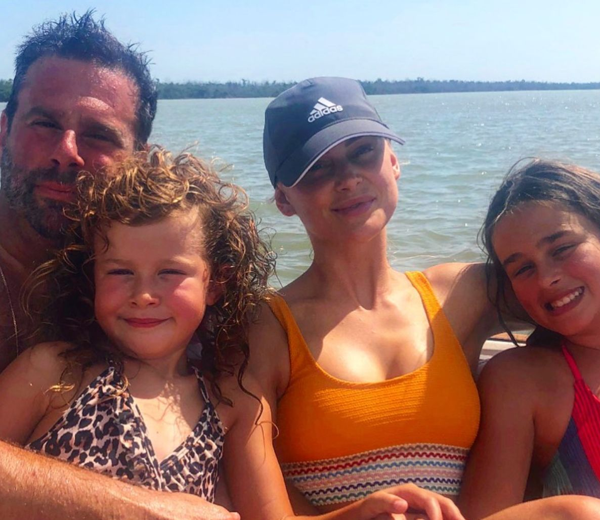 Randall Emmett and Lala Kent vacation with his daughters.