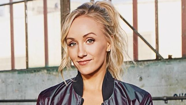 Nastia Liukin smiling at camera