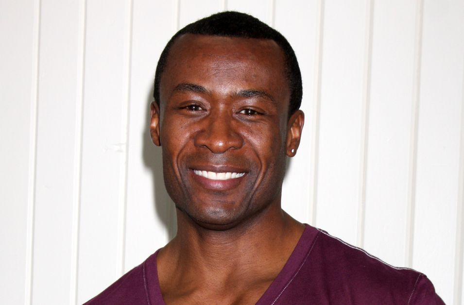 Sean Blakemore smiles at an event