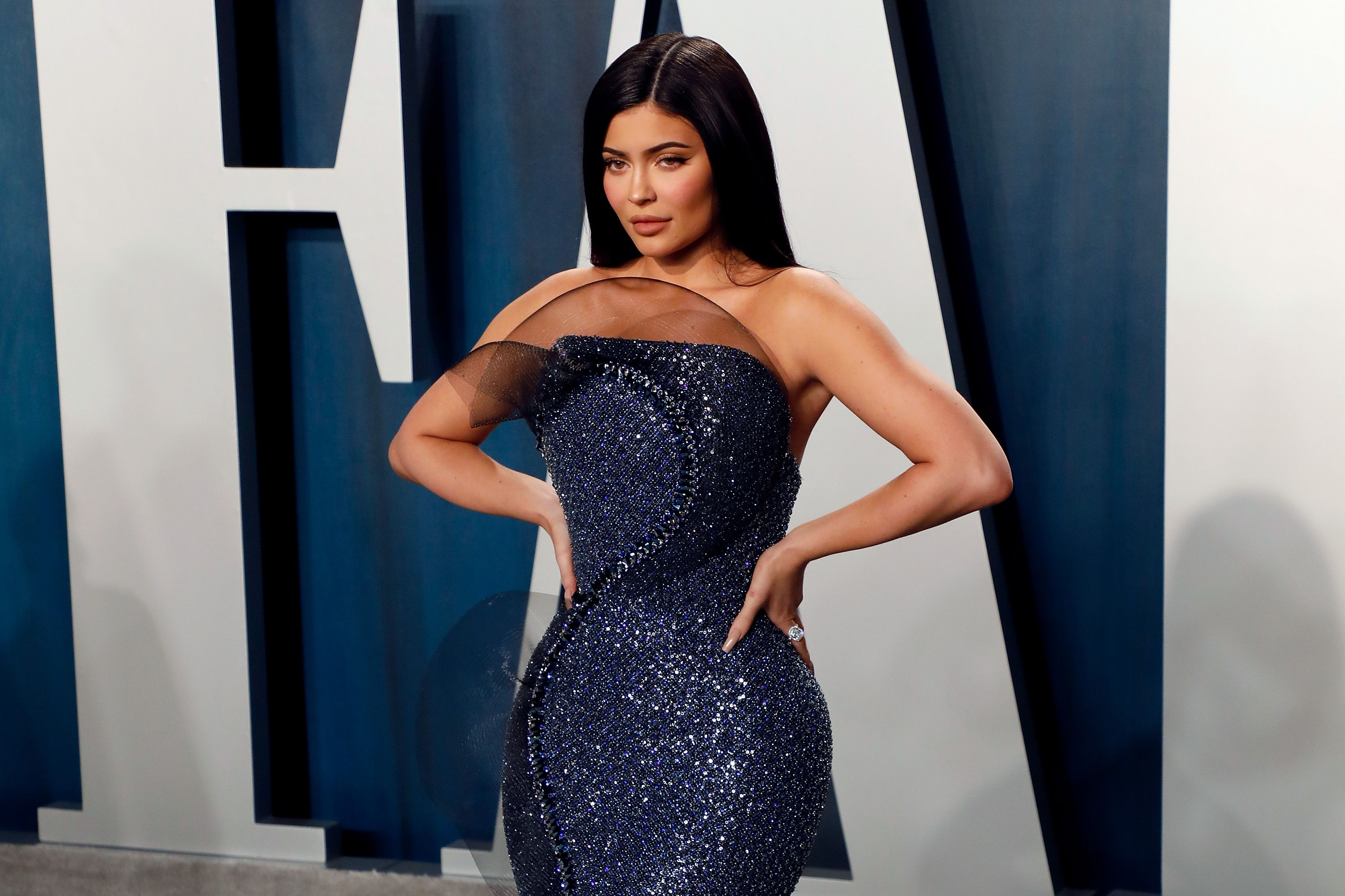 Kylie Jenner at a Vanity Fair event
