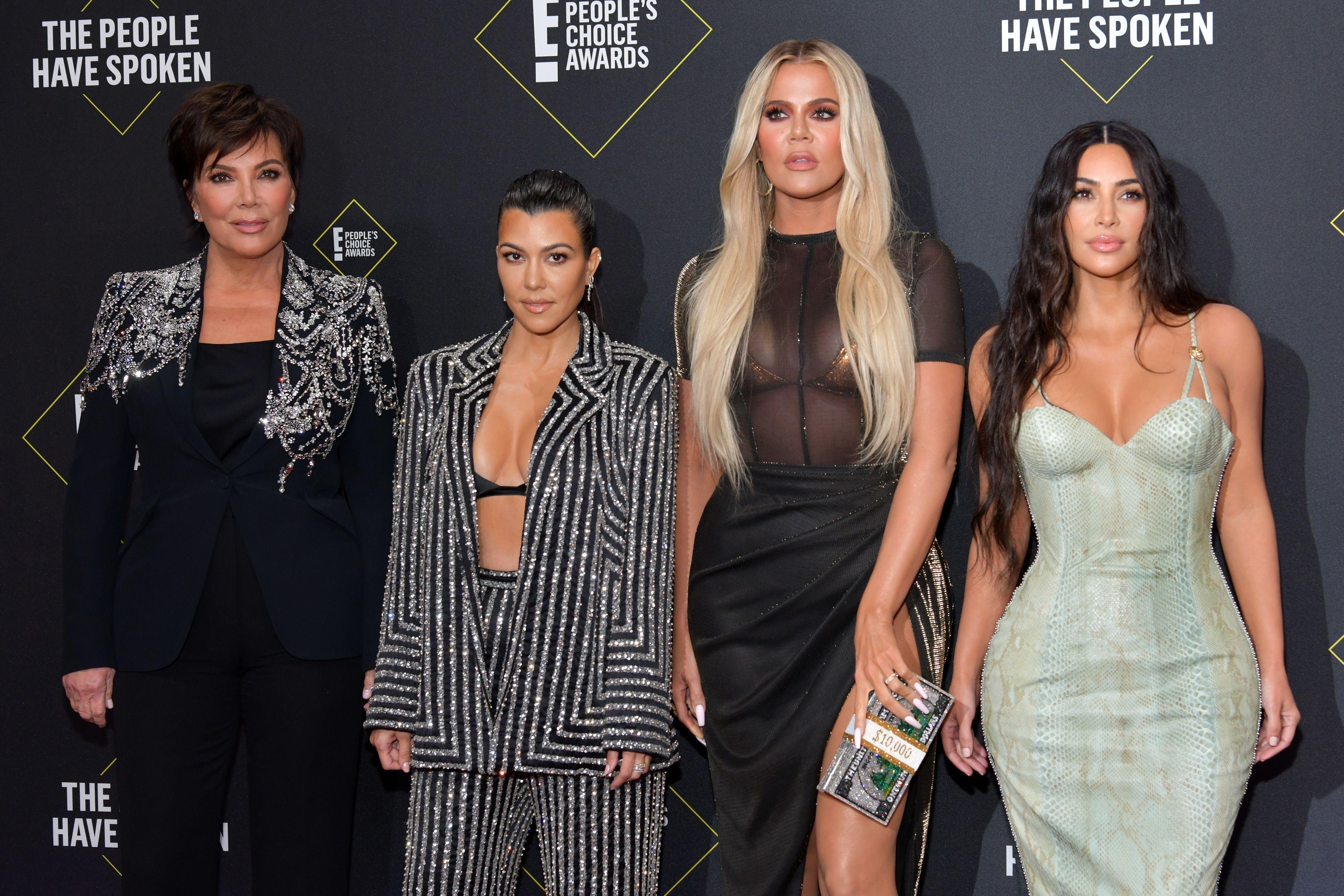 Kris Jenner, Kourtney Kardashian, Khloe Kardashian, and Kim Kardashian