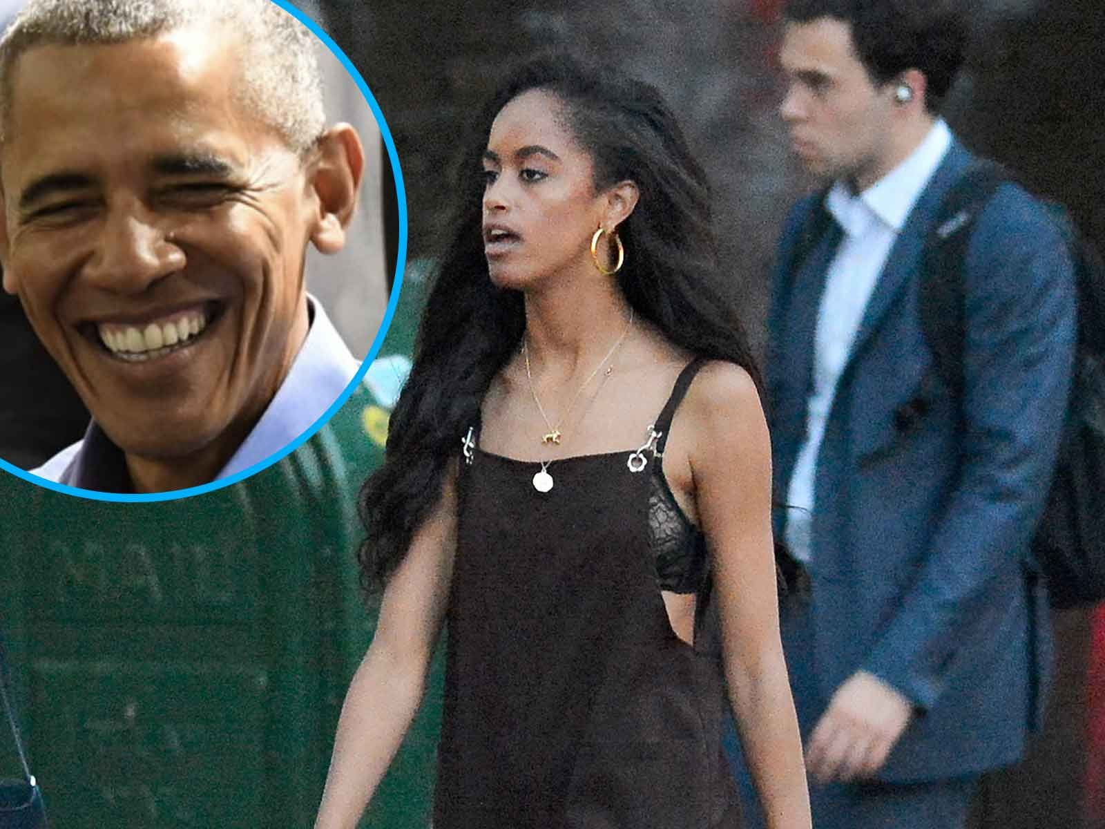 Malia Obama Mulls Over Birthday Gift for Barack While at