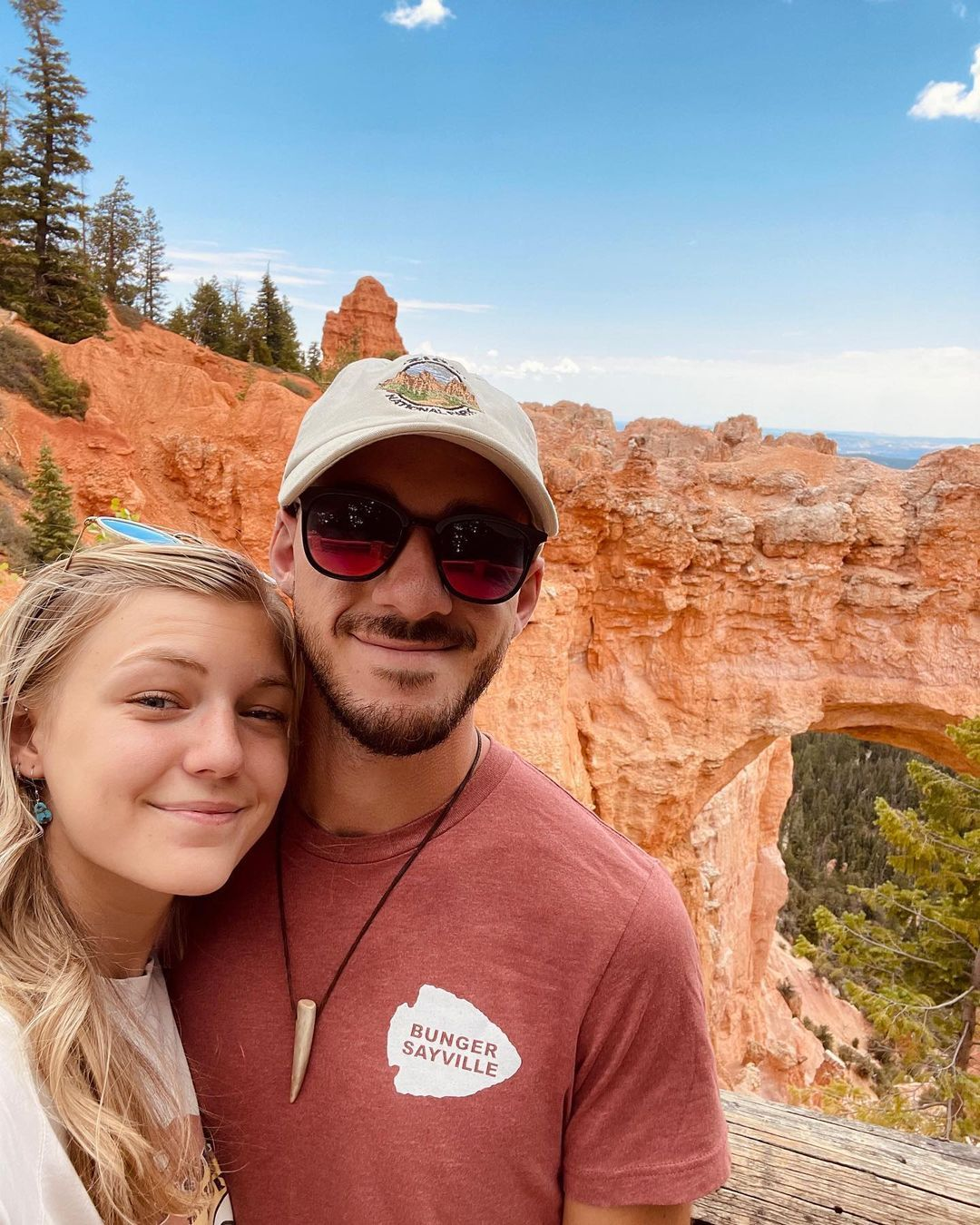 Gabby Petito and Brian Laundrie in Bryce Canyon National Park.
