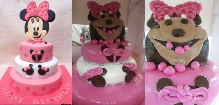 Sensational 24 Disney Cake Fails So Terrible That Theyre Hilarious Funny Birthday Cards Online Barepcheapnameinfo