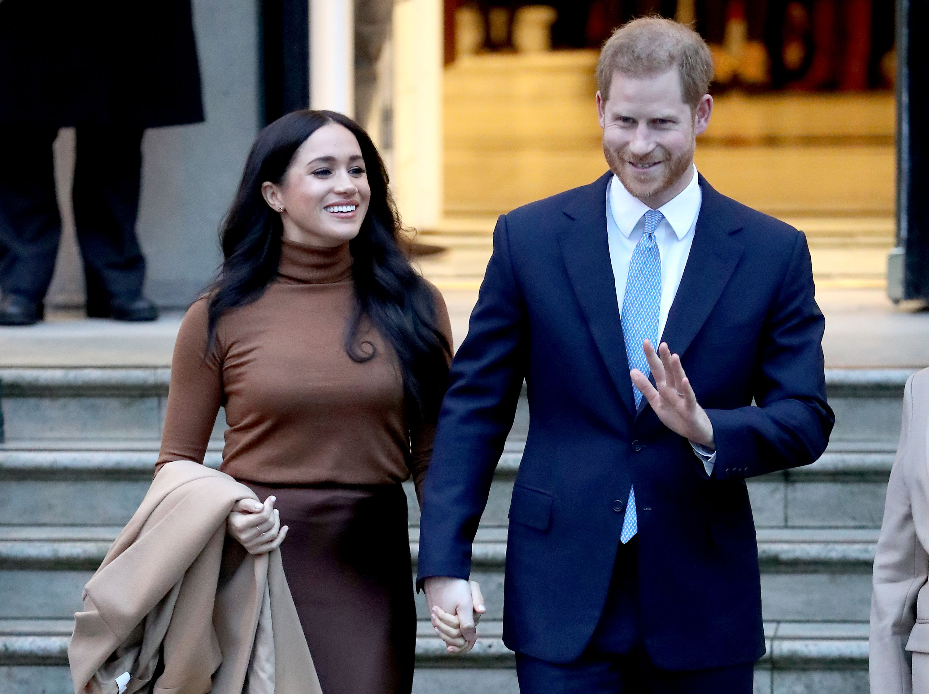 Meghan and Harry are now living oceans apart from the royal family.