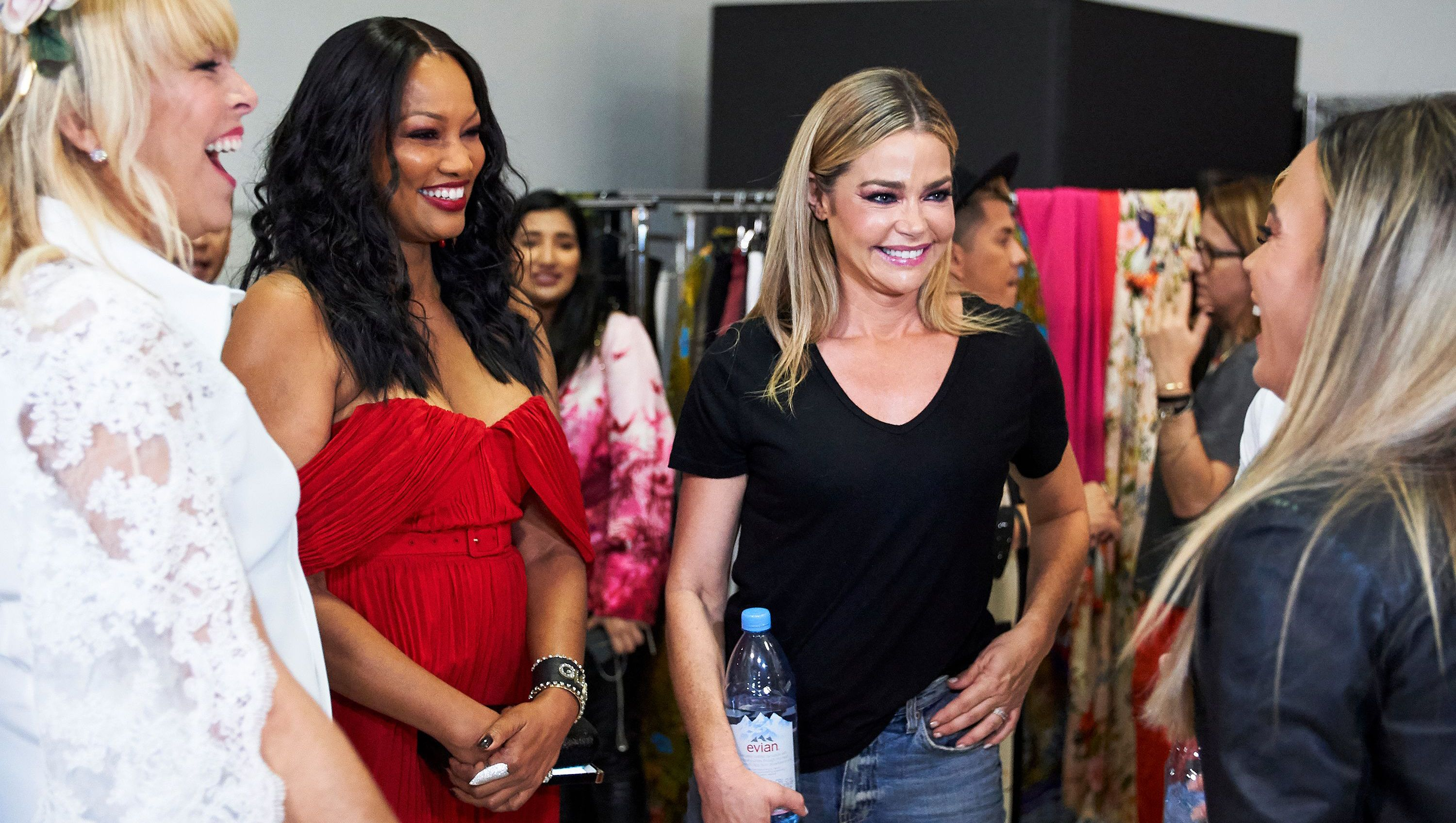 Garcelle Beauvais and Denise Richards are seen on 'RHOBH.'