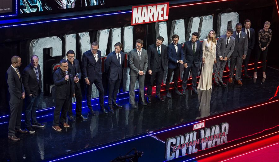 The cast of Captain Civil War