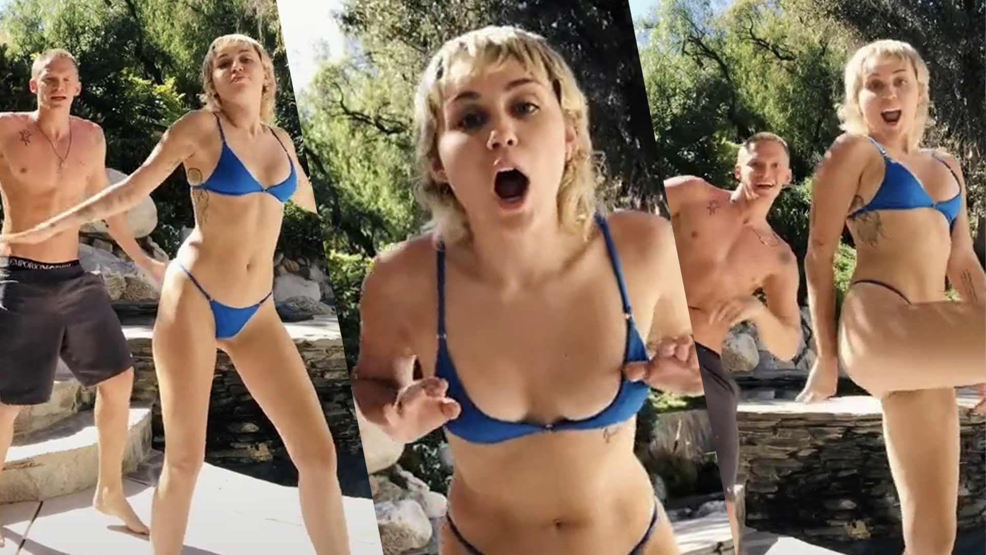 Miley Cyrus Tiktok
