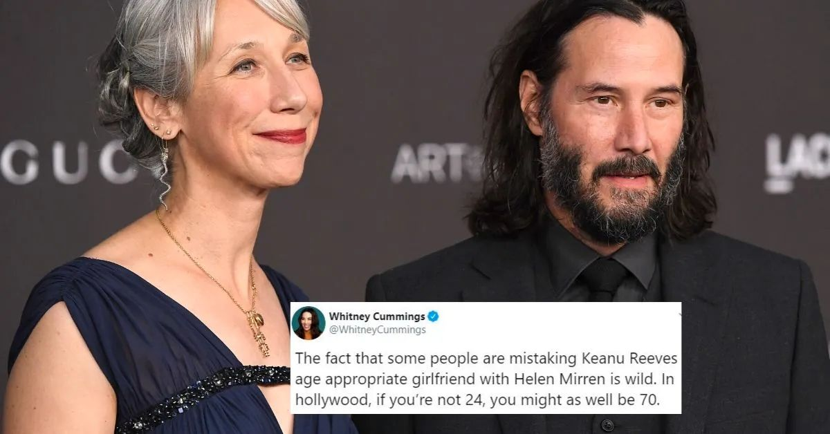 14 Of The Best Twitter Reactions After Keanu Reeves Went Public With His Girlfriend