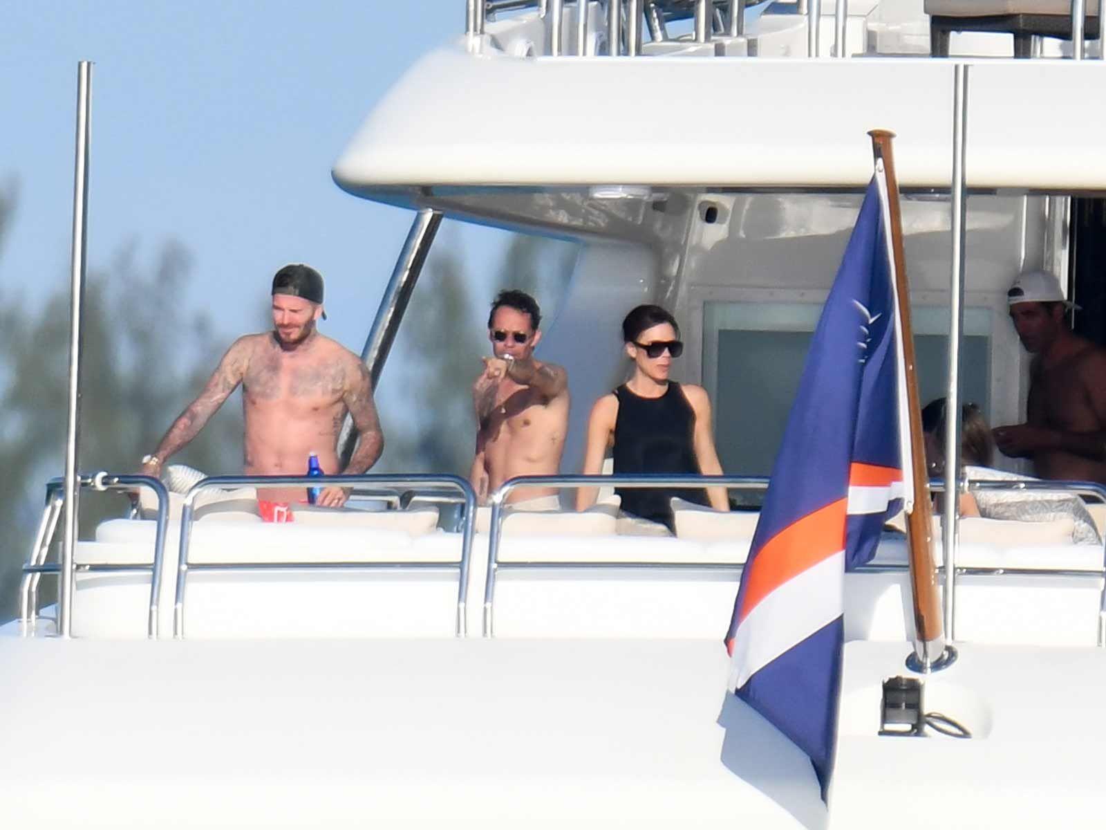 Inside Marc Anthony and David Beckham's Insane $7 Million