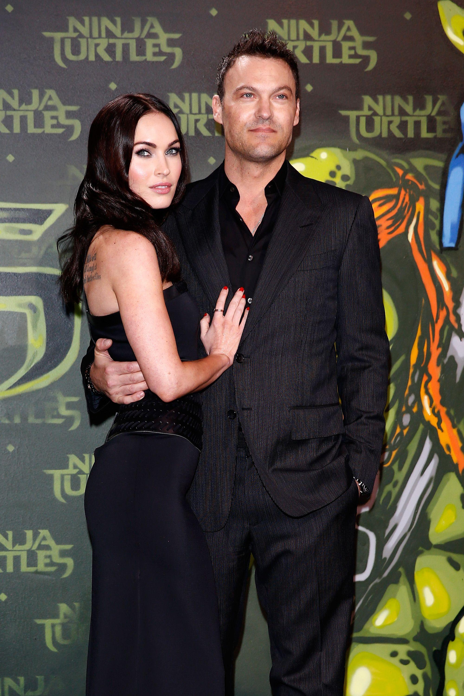 Megan Fox with husband Brian Green