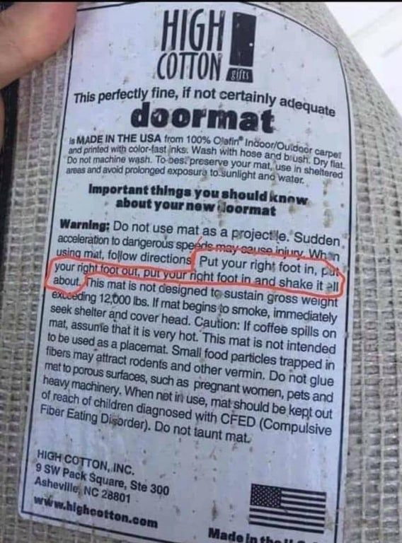 16+ Funny Labels That Were Actually Worth Reading