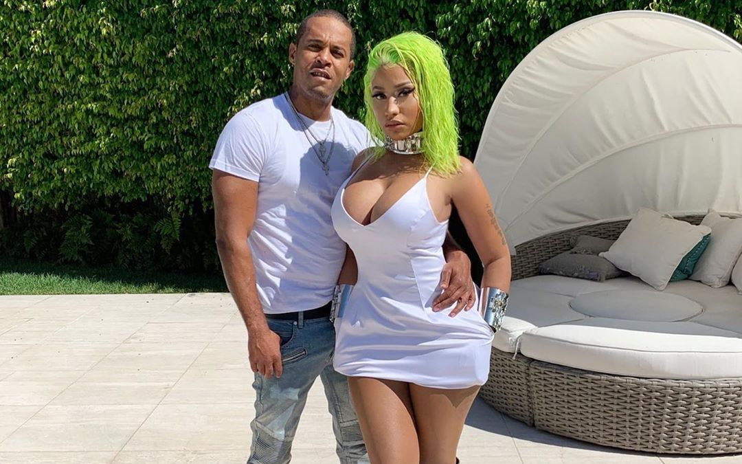 Nicki and husband Kenneth Petty