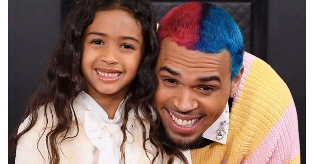 Chris Brown Adorably Brings Daughter Royalty As His Grammy Date - The Blast