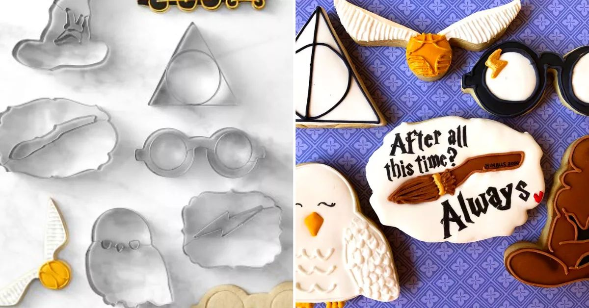 Become A Baking Wizard With A Set Of Magical 'Harry Potter' Cookie Cutters