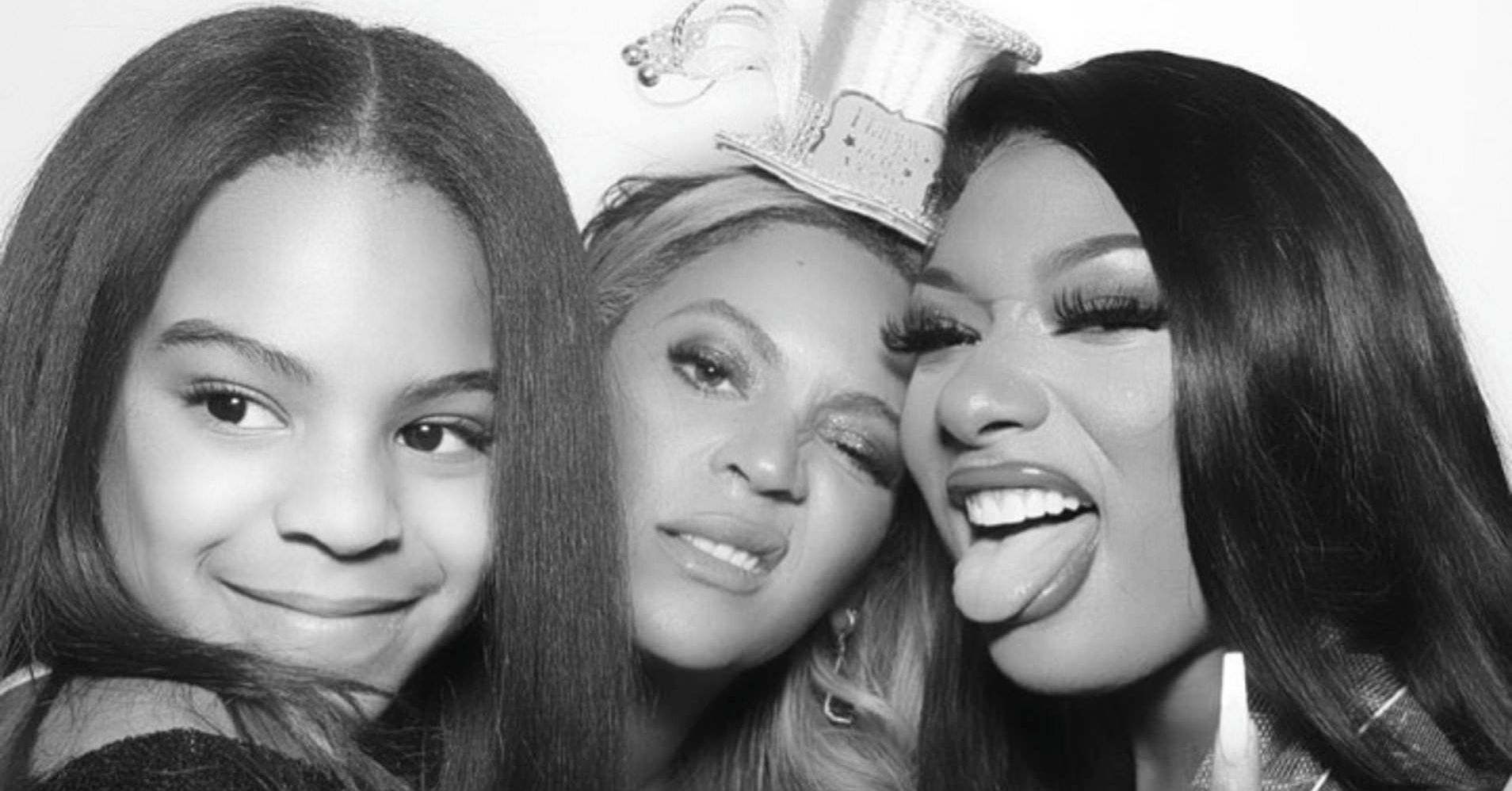 Megan Thee Stallion Says She Feels Like Family With Beyonce As They Talk All The Time