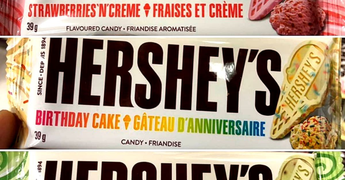 Swell Hersheys Launched Three New Chocolate Bars Inspired By Summery Birthday Cards Printable Benkemecafe Filternl