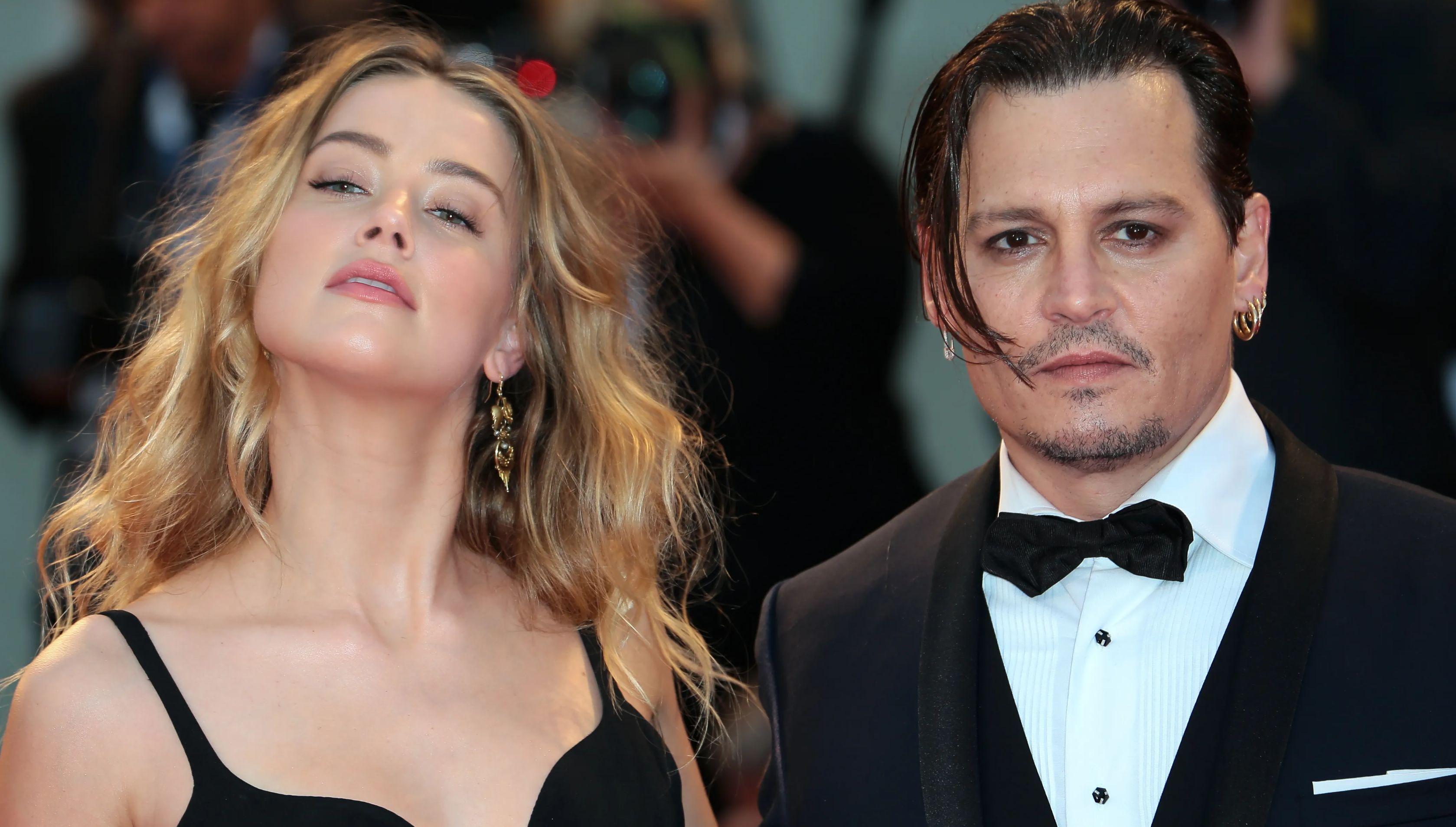 Amber Heard & Johnny Depp, in happier times?
