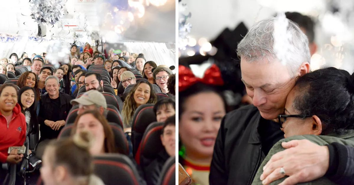 Gary Sinise's Annual Disney World Trip For Families Of Fallen Soldiers Takes Off