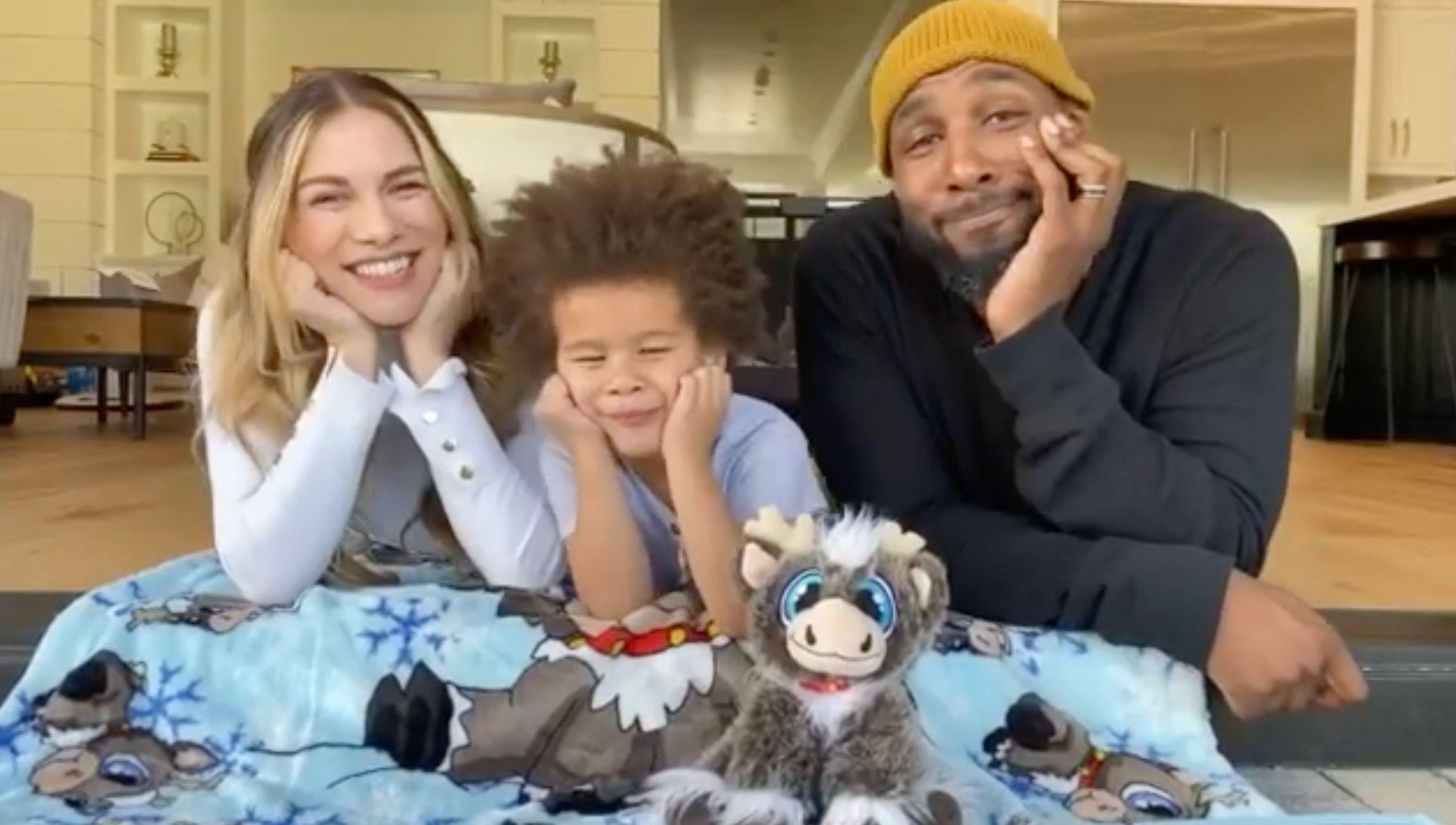Celebrities Making Reindeer In Here Rock The Baby Shark Of
