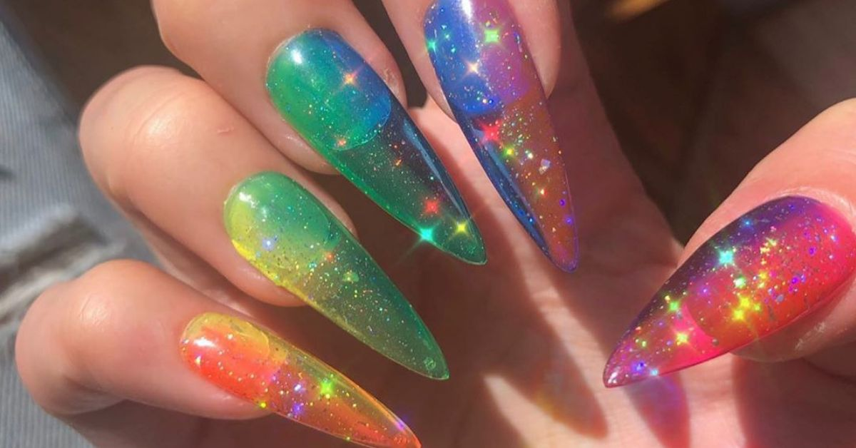 Jelly Nails Are Summer\u0027s Latest Nail Trend And They Make Me