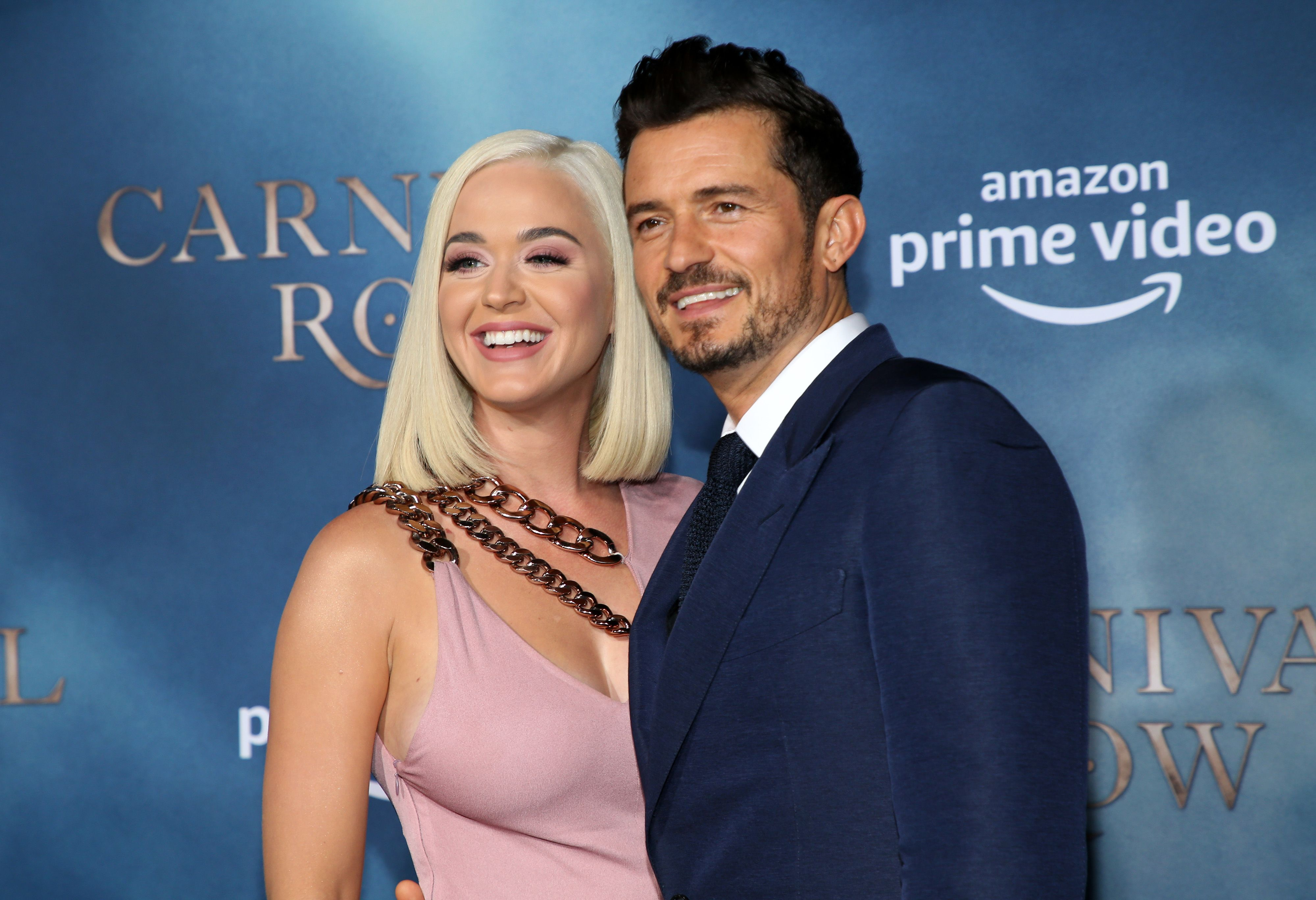 Katy Perry and Orlando Bloom