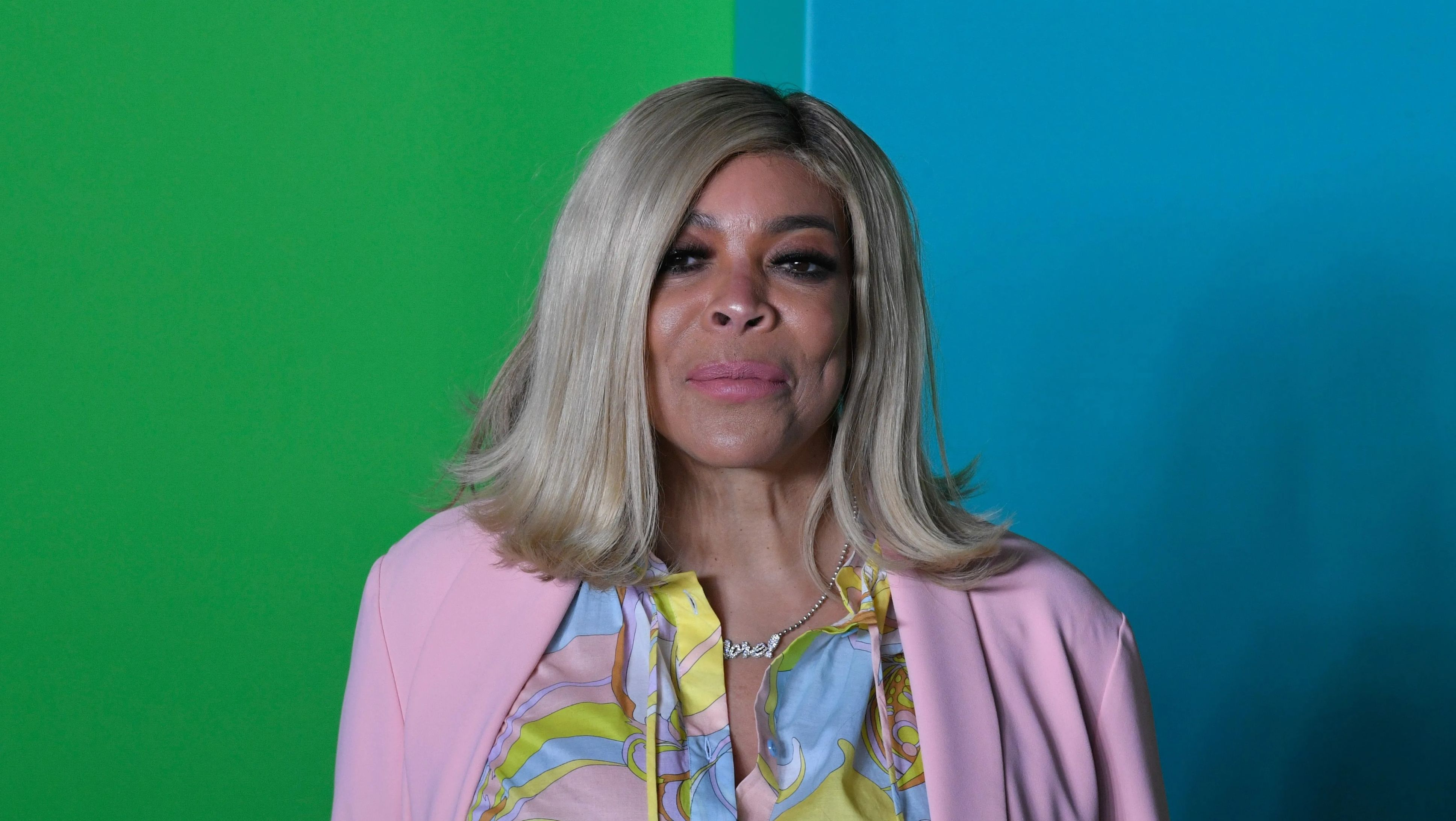 Wendy Williams in a wig