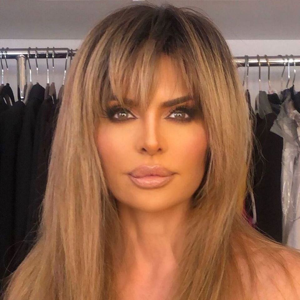 Lisa Rinna close up