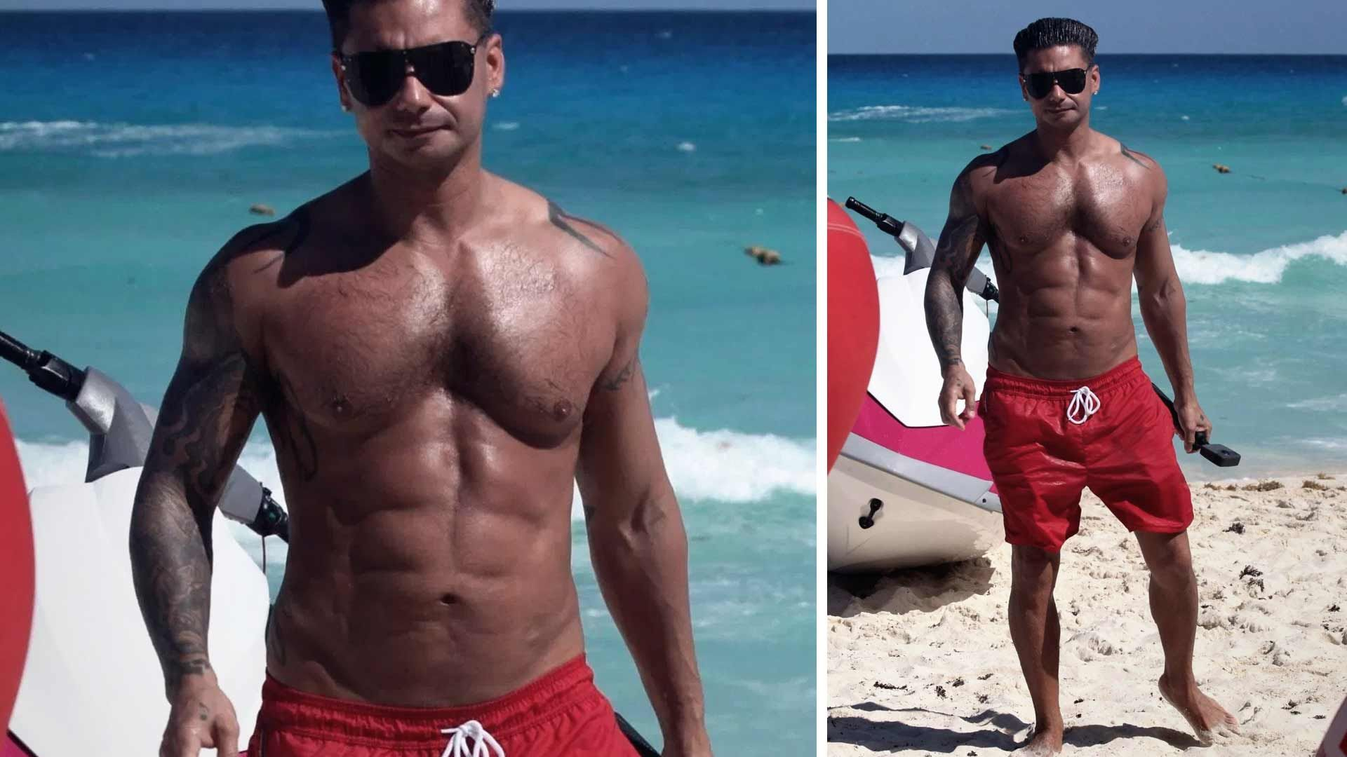 Jersey Shore' Star Pauly D Gets Abs-olutely Shredded from
