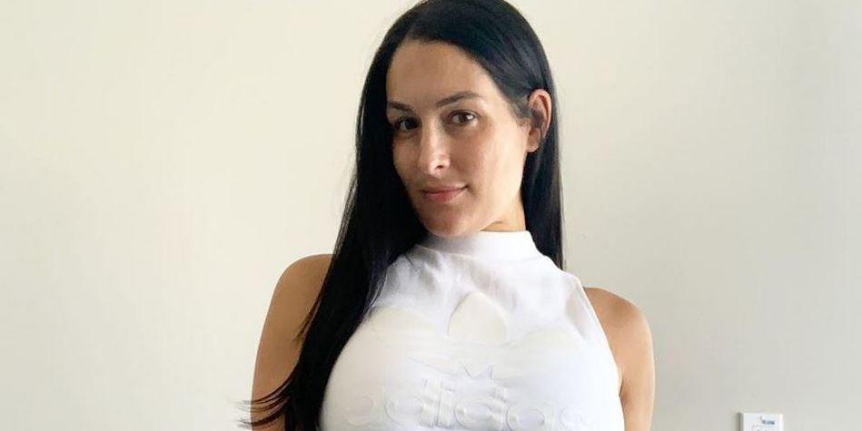 Nikki Bella Wears Lingerie For Bodaciously Sexy Tiktok Baby Bump Video