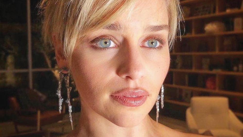 Emilia Clarke close up