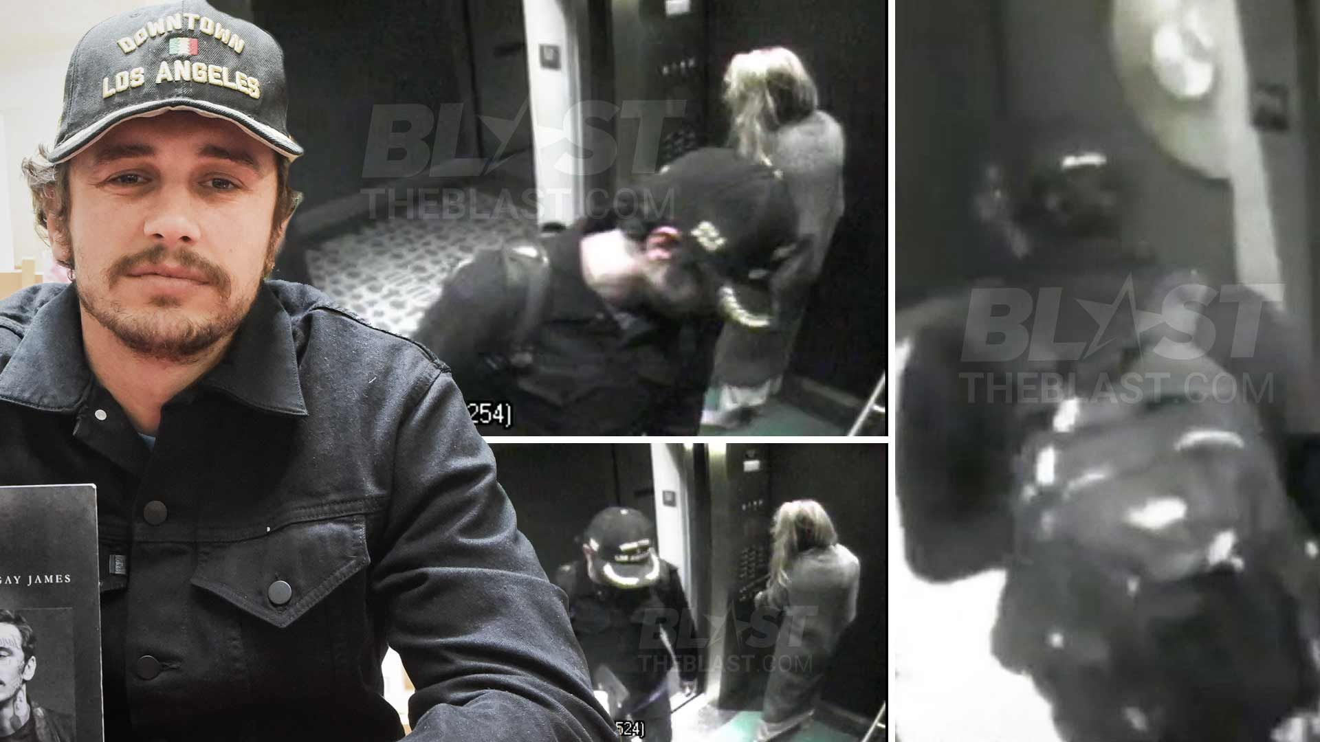 Amber Heard Naked Video surveillance video shows james franco with amber heard one