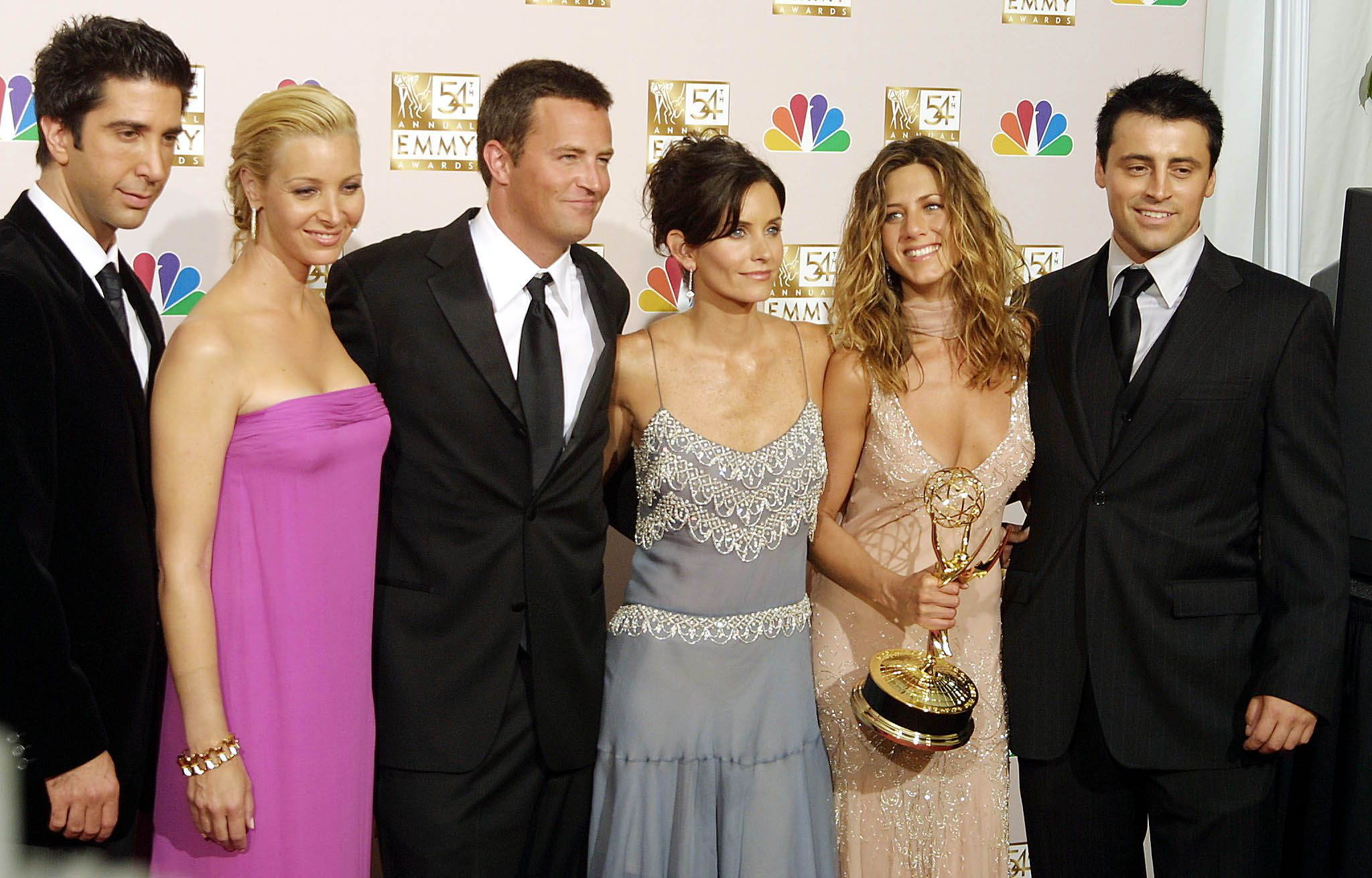 The 'Friends' cast